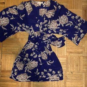 Yumi Kim Floral Deep V dress